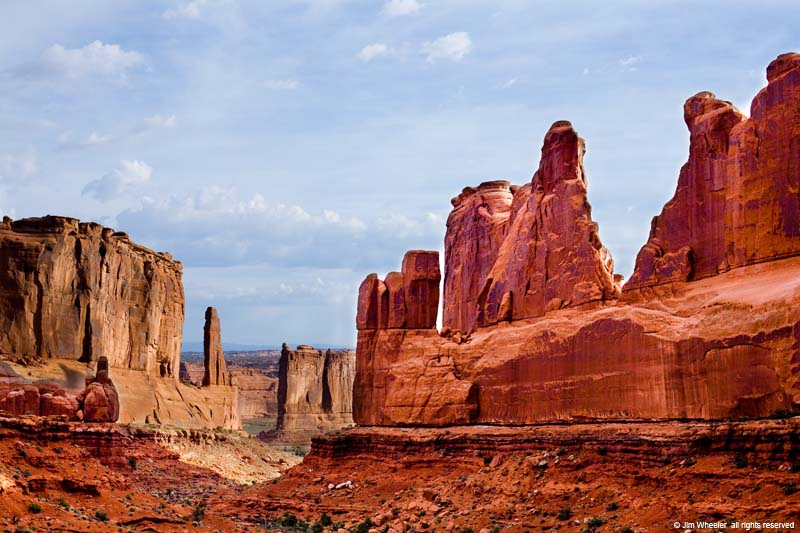 Park Avenue Viewpoint, Arches Nat'l Park, Moab, Utah