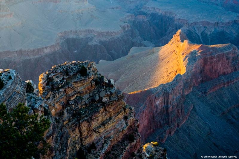 Grand Canyon, view from Hopi Point on the South Rim
