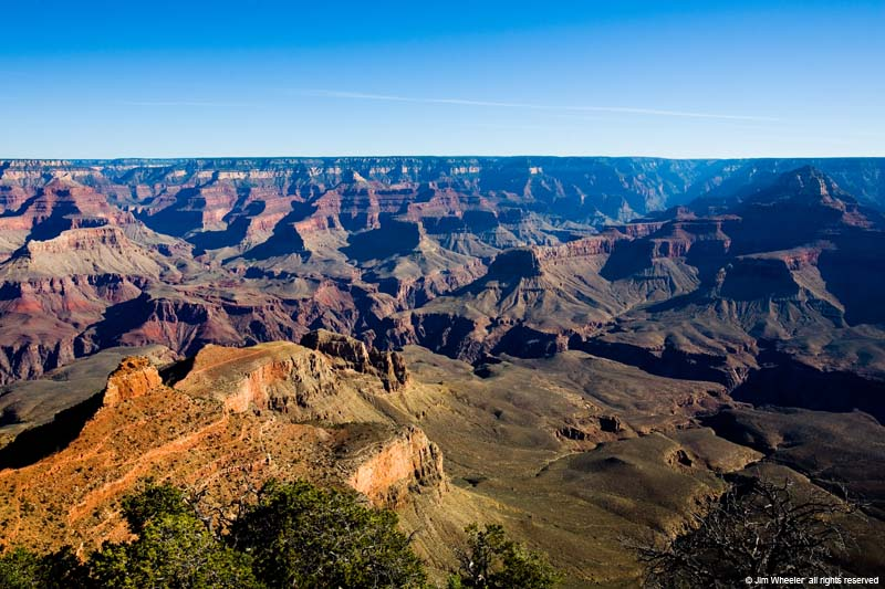 Grand Canyon, view from Yaki Point