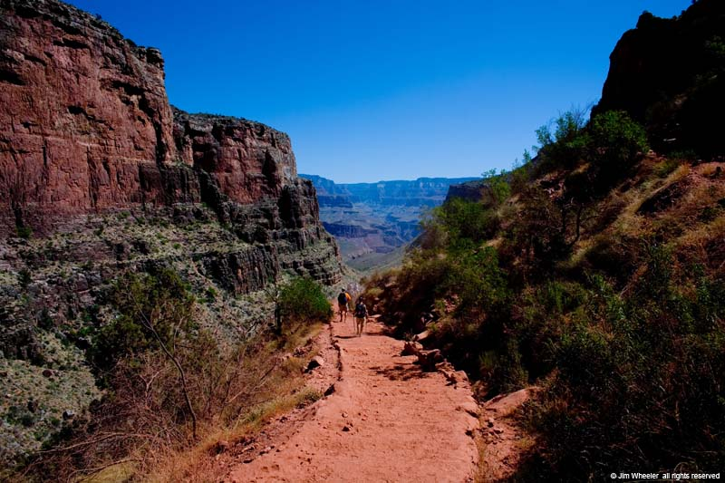 Grand Canyon, Bright Angel Trail, shot @ 4473 feet