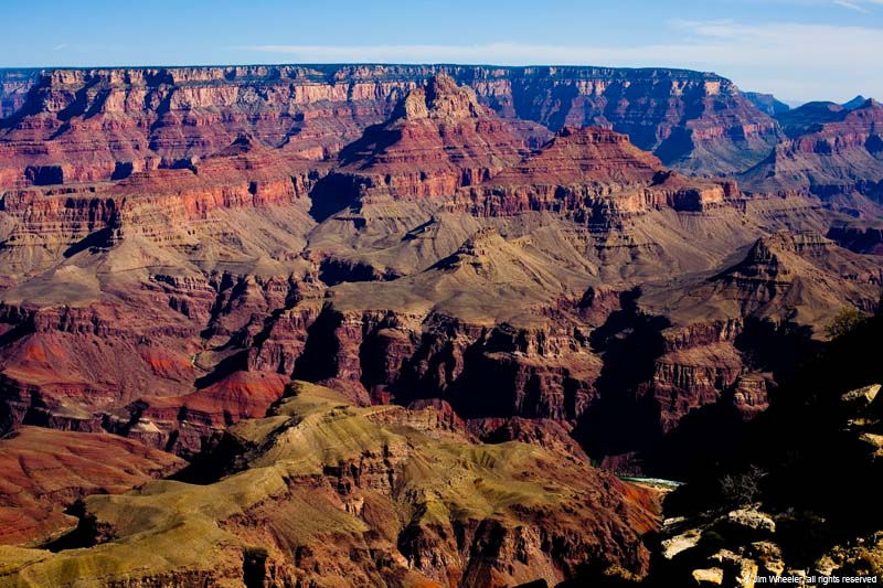 Grand Canyon, view from Moran Point